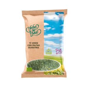 Té verde con frutas silvestres BIO 70 gr.